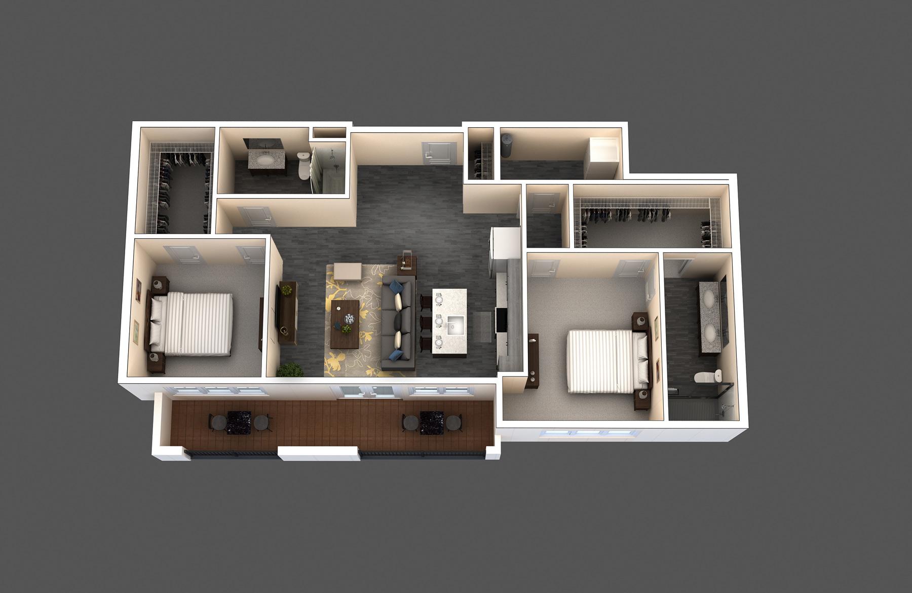 The Bristol floor plan