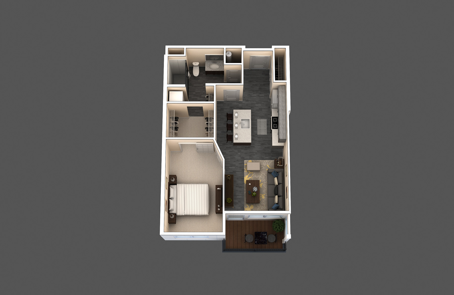 The Cantina floor plan