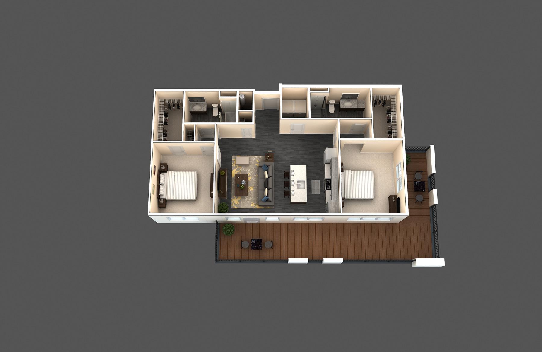 The Hubbard floor plan
