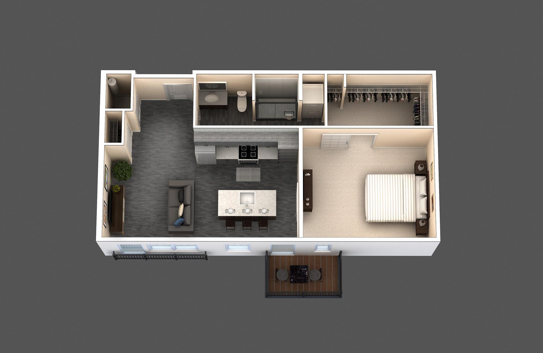 The Hyde floor plan