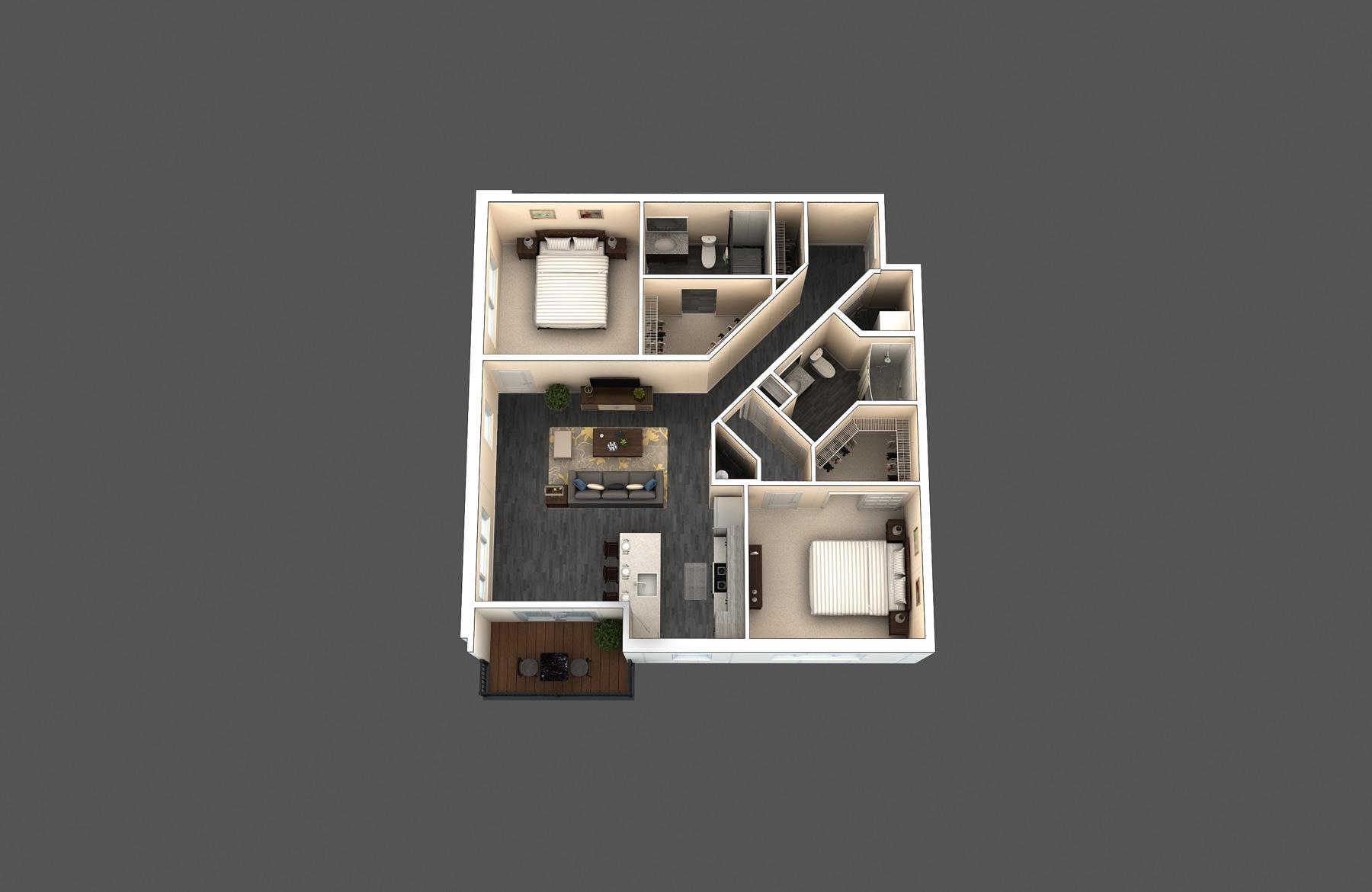 The Standard floor plan